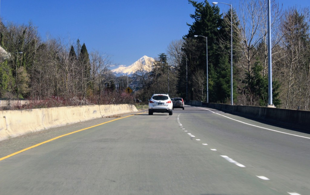 Just an ordinary freeway on-ramp in Portland
