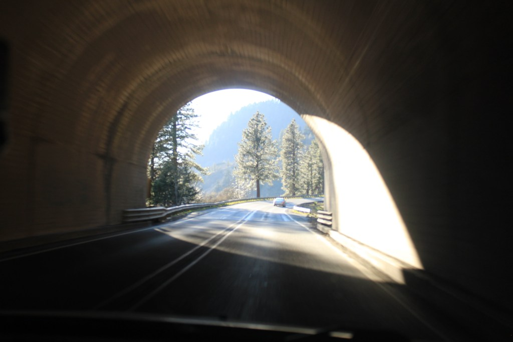 Tunnel #2 on SR14
