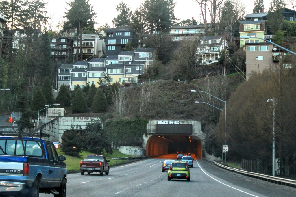 Portland's Vista Ridge Tunnel